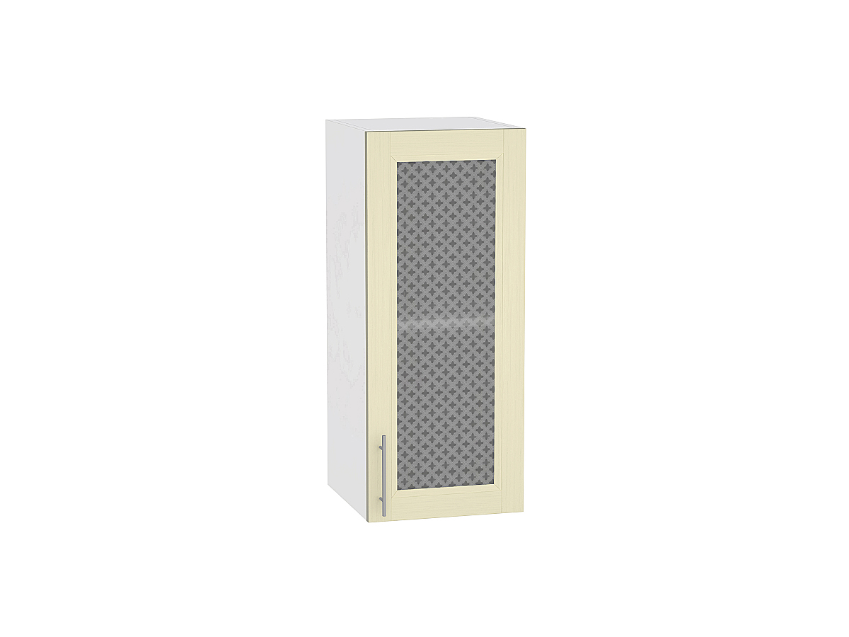 Шкаф верхний с 1-ой остекленной дверцей Сканди 920 300