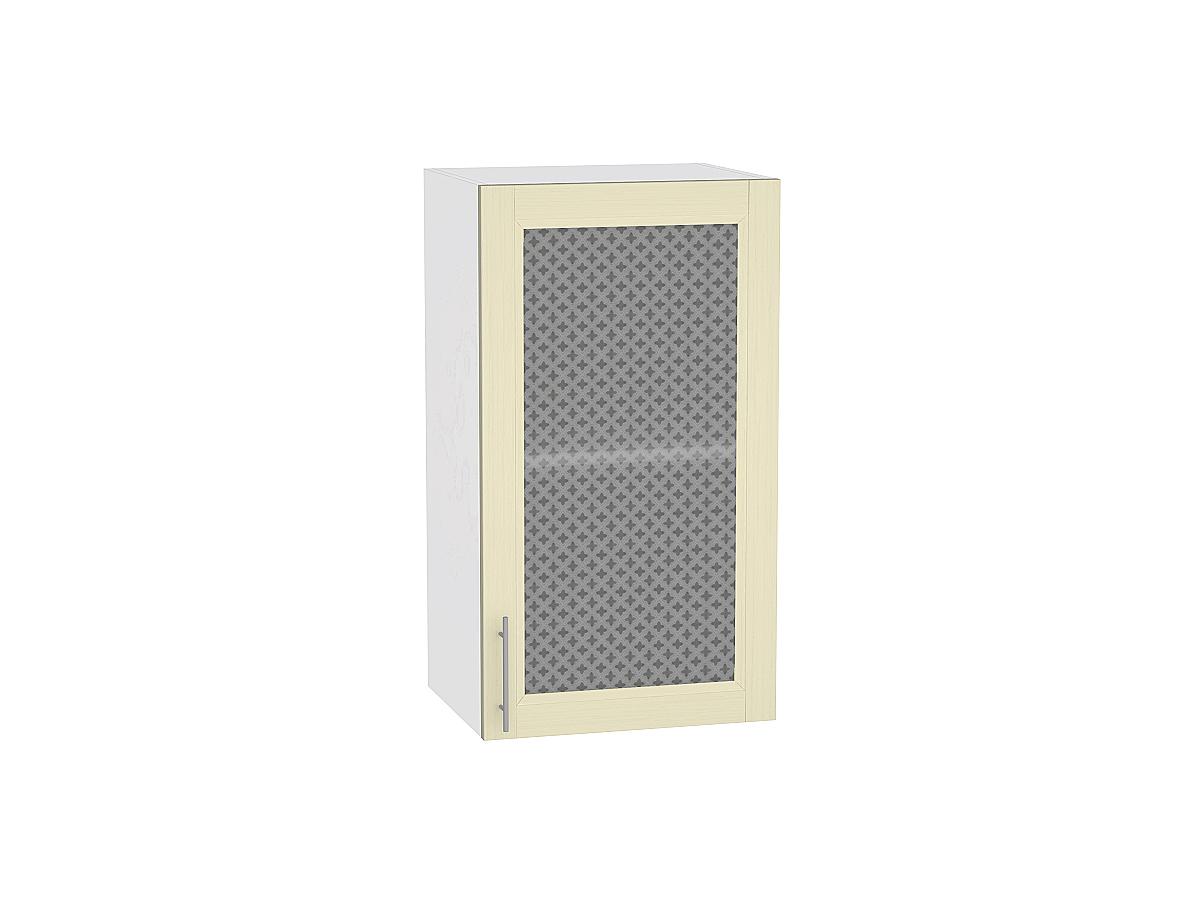 Шкаф верхний с 1-ой остекленной дверцей Сканди 920 400