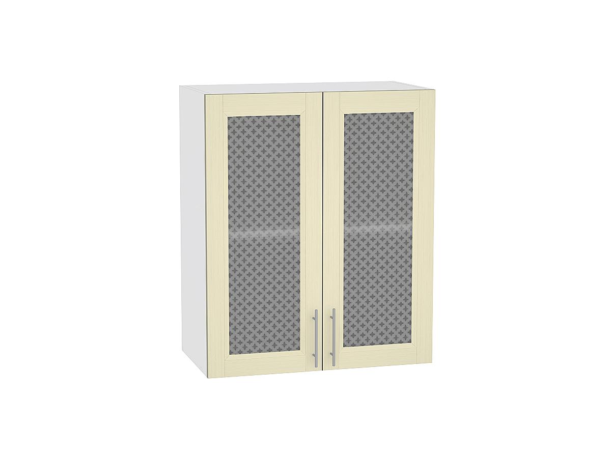 Шкаф верхний с 2-мя остекленными дверцами Сканди 920 600