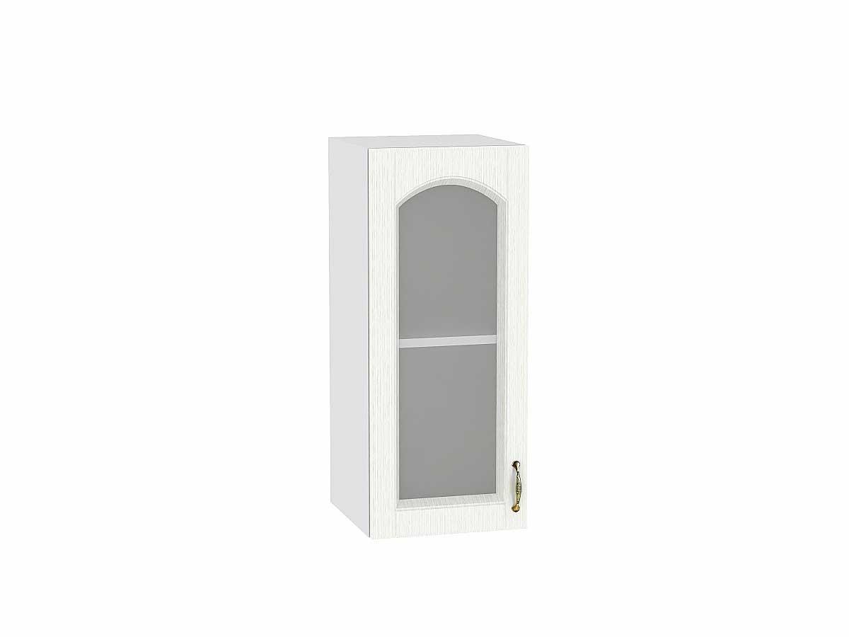 Шкаф верхний с 1-ой остекленной дверцей Верона 300
