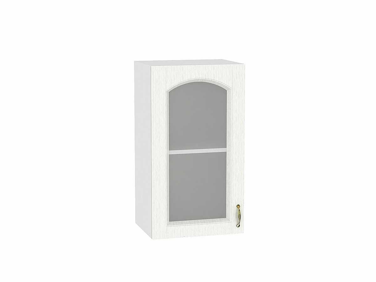 Шкаф верхний с 1-ой остекленной дверцей Верона 400