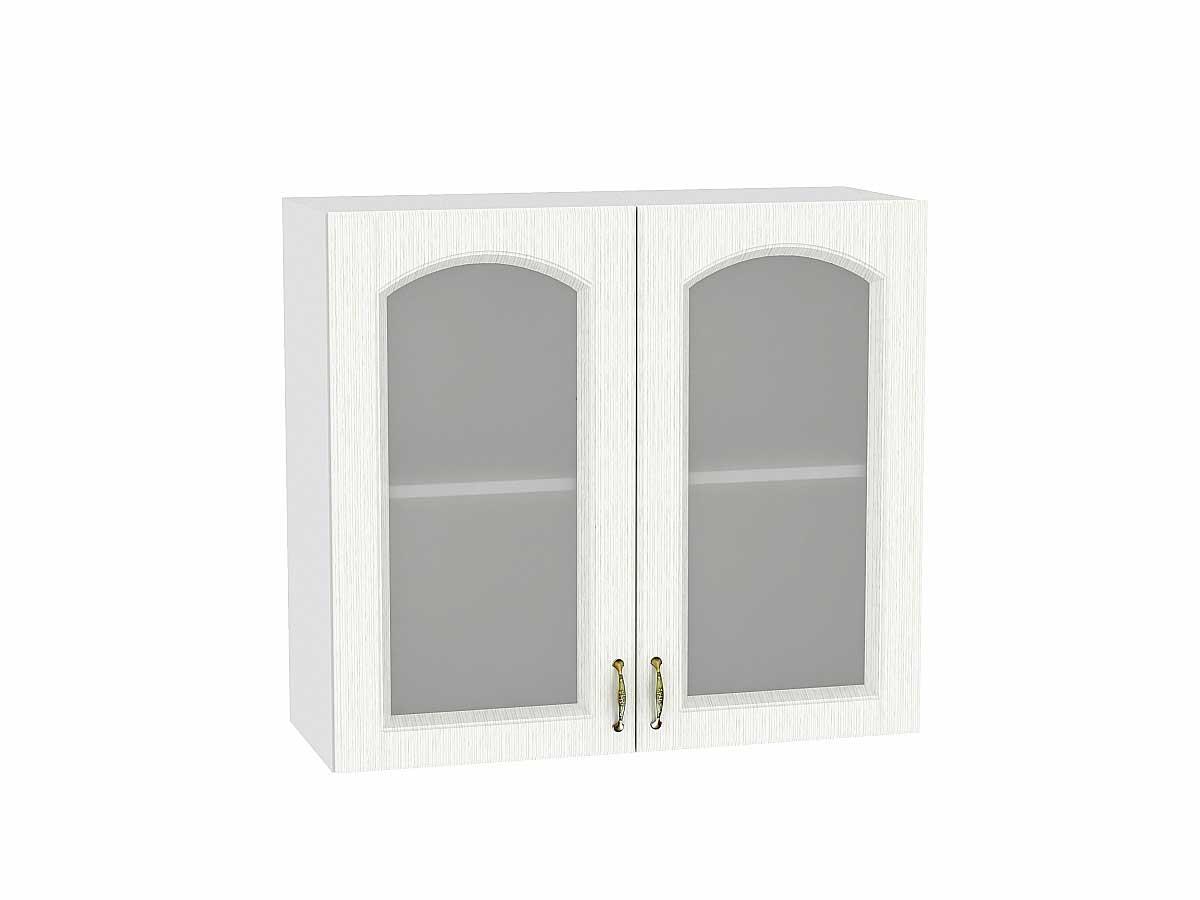 Шкаф верхний с 2-мя остекленными дверцами Верона 800
