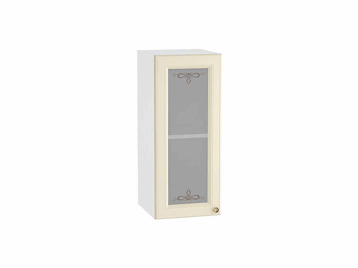 Шкаф верхний с 1-ой остекленной дверцей Версаль 300