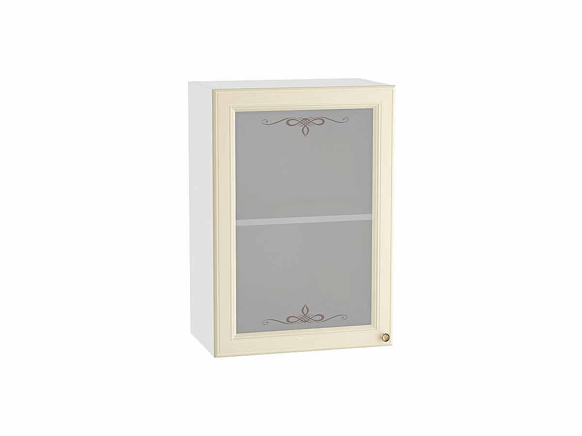 Шкаф верхний с 1-ой остекленной дверцей Версаль 500