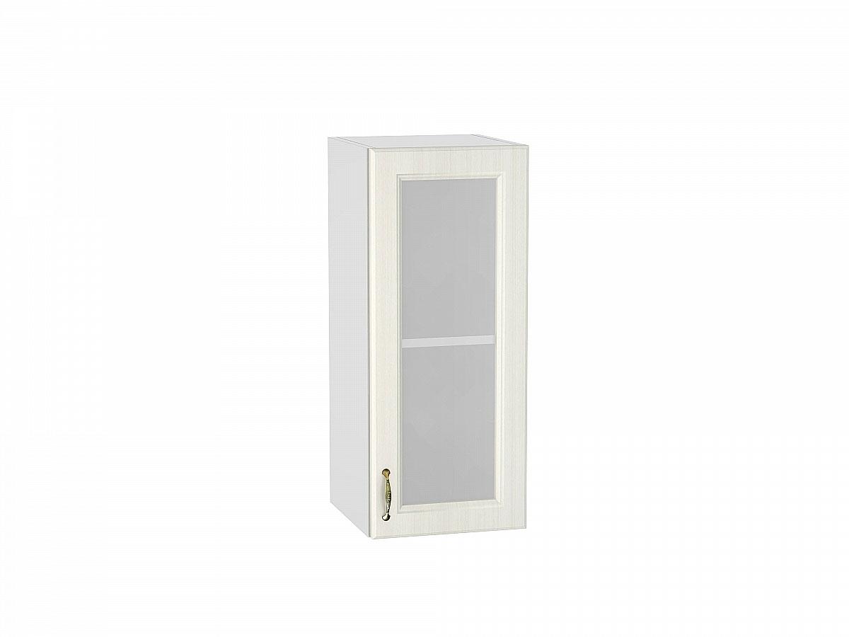 Шкаф верхний с 1-ой остекленной дверцей Виктория/300