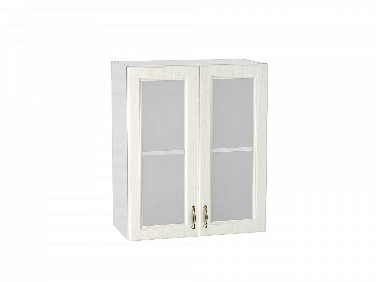 Шкаф верхний с 2-мя остекленными дверцами Виктория/600