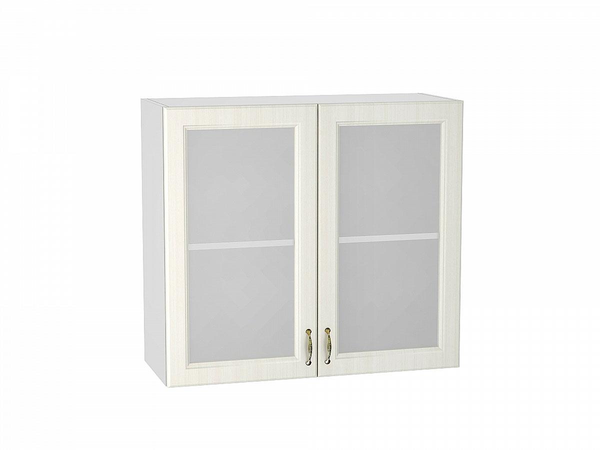 Шкаф верхний с 2-мя остекленными дверцами Виктория/800