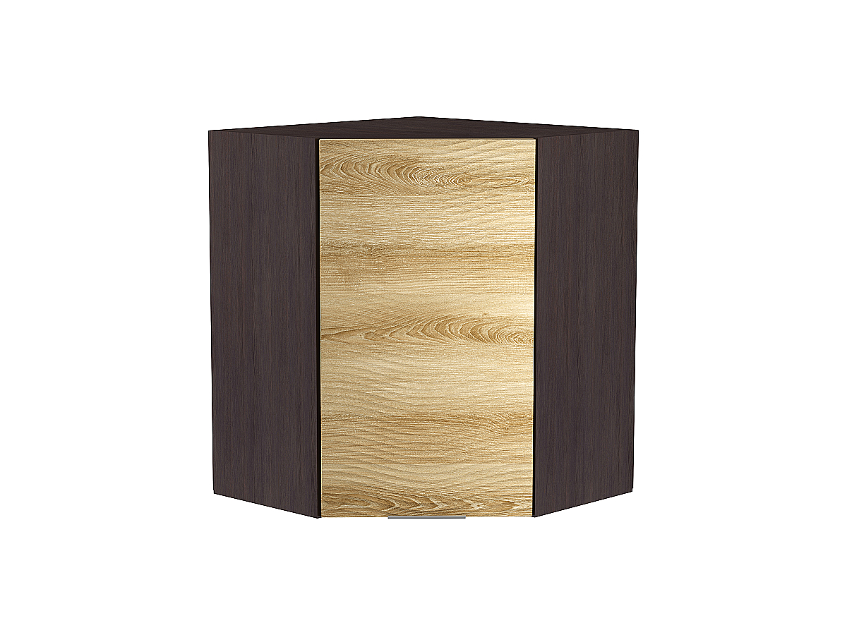 Шкаф верхний угловой Терра 920 W Волна