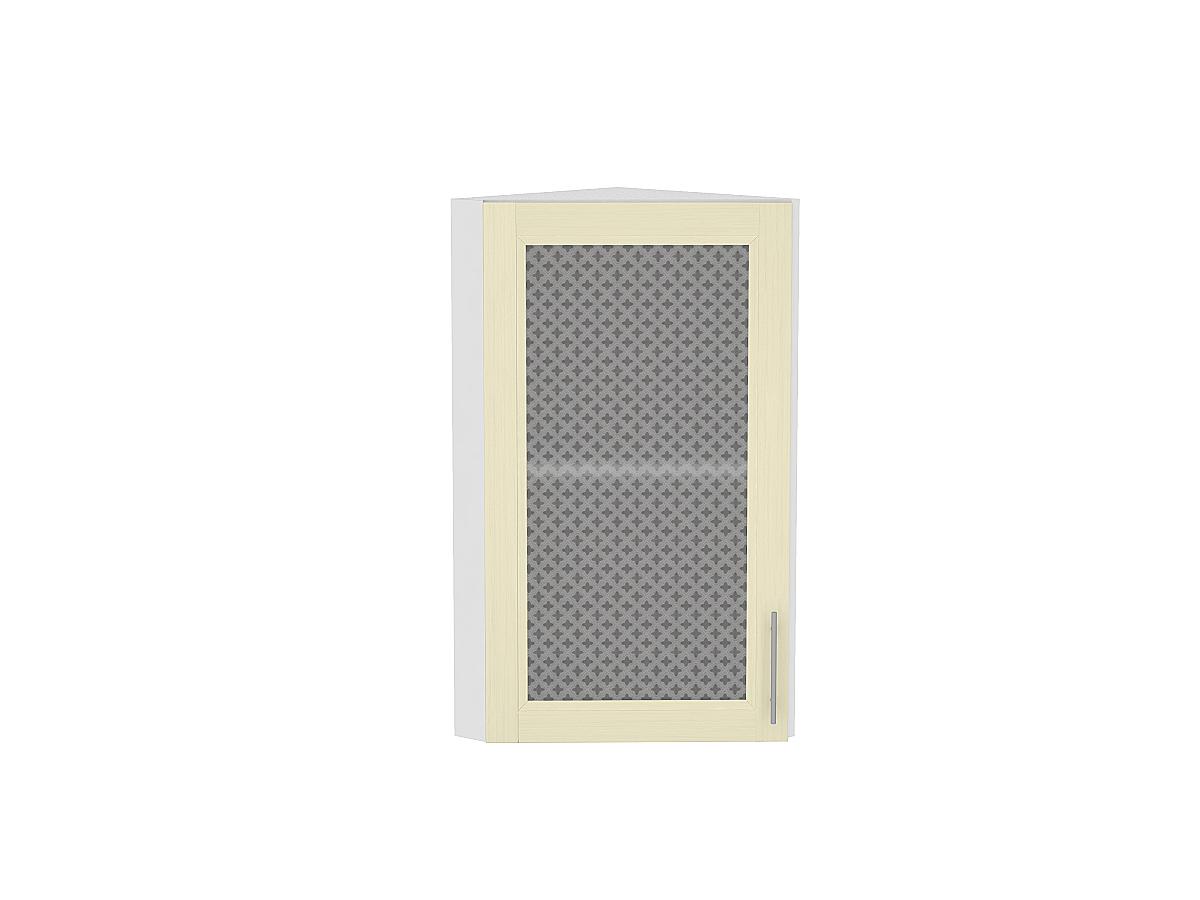 Шкаф верхний торцевой остекленный Сканди 920