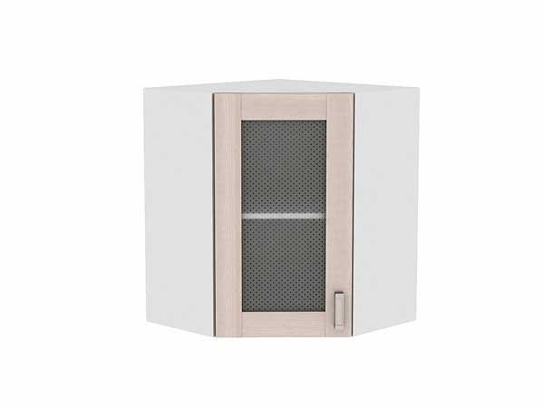 Шкаф верхний угловой остекленный Лофт
