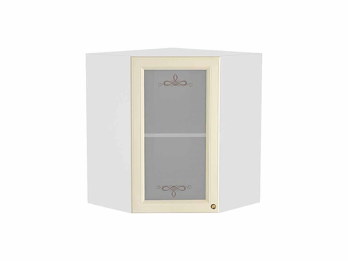 Шкаф верхний угловой остекленный Версаль