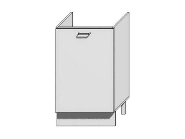 Шкаф нижний с 1-ой дверцей под мойку Loft 500