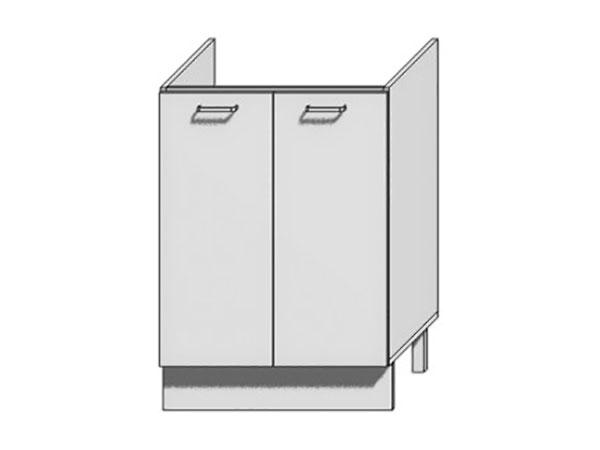 Шкаф нижний с 2-мя дверцами под мойку Loft 600