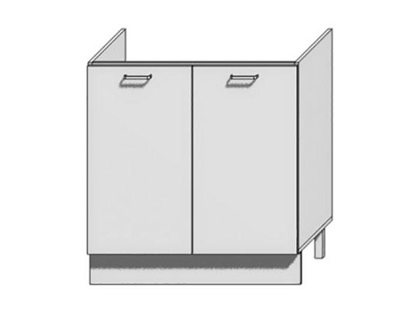 Шкаф нижний с 2-мя дверцами под мойку Вита 800