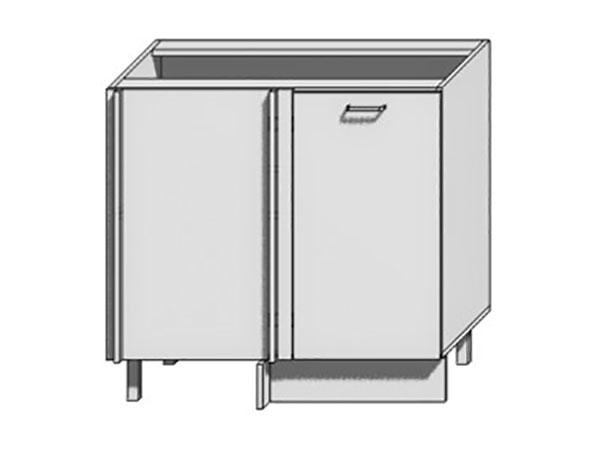 Шкаф нижний угловой Loft 1000