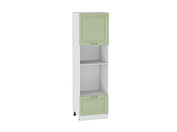 Шкаф пенал под бытовую технику с 1-ой дверцей и ящиком Ницца 606Н (для верхних шкафов высотой 920)