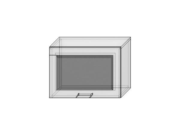Шкаф верхний горизонтальный остекленный Валерия-М 500