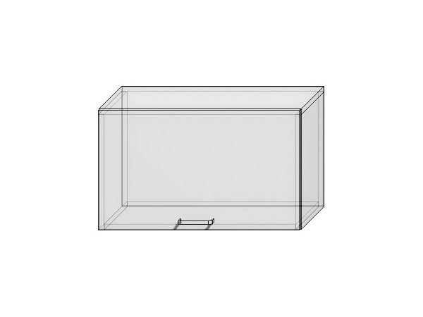 Шкаф верхний горизонтальный Валерия-М 600