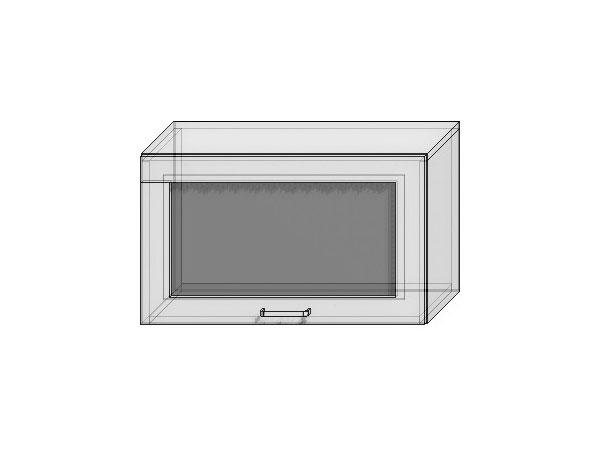 Шкаф верхний горизонтальный остекленный Loft 600