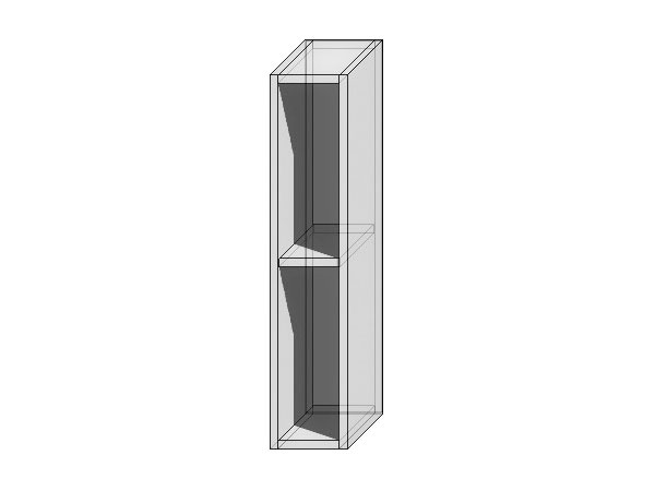Каркас верхнего шкафа бутылочницы ВБ 200