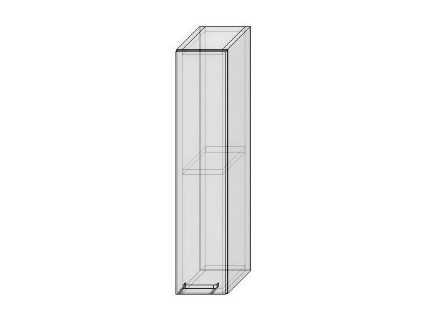 Шкаф верхний бутылочница Валерия-М 200