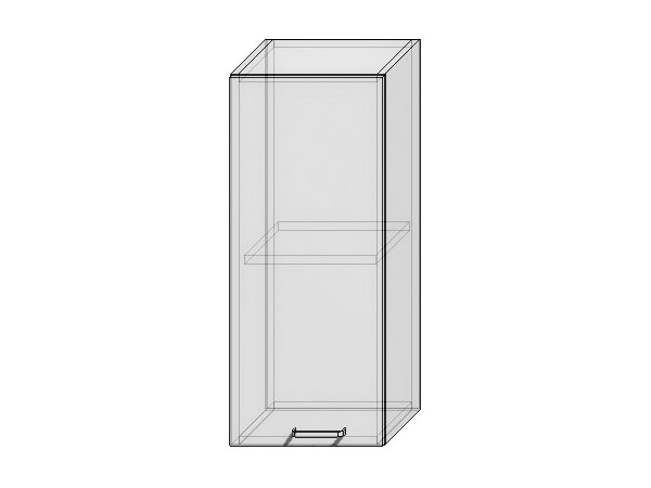 Шкаф верхний с 1-ой дверцей Вита 300