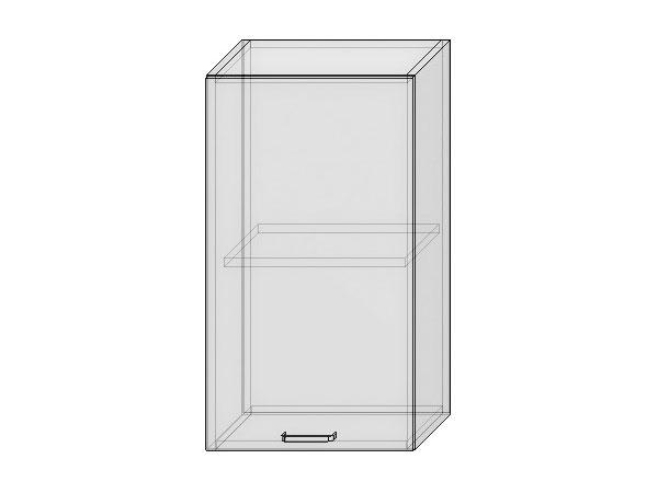 Шкаф верхний с 1-ой дверцей Вита 450