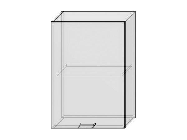 Шкаф верхний с 1-ой дверцей Вита 500