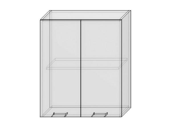 Шкаф верхний с 2-мя дверцами Вита 600