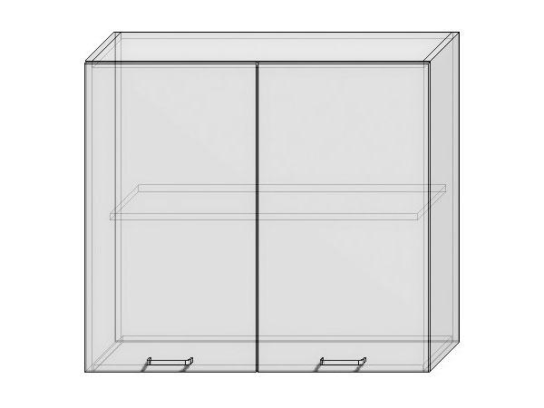 Шкаф верхний с 2-мя дверцами Валерия-М 800х920