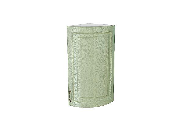 Шкаф верхний торцевой радиусный Ницца